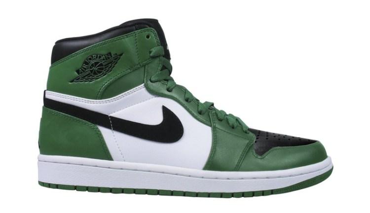 """Air Jordan 1 """"Reverse Celtics"""""""