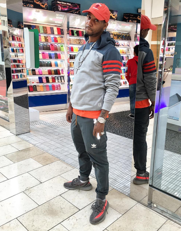 ... shop juelz santana in the adidas yeezy boost 350 v2 beluga solar red  e691b 495e2 210dee1527
