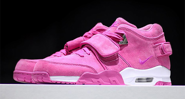 "Sneaker Room and Victor Cruz Reveal Nike Air Trainer Cruz ""Think Pink"" db38f6141"