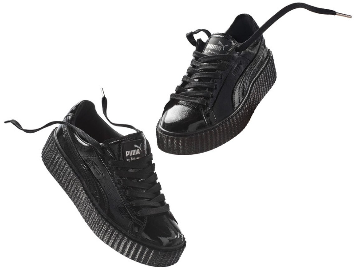 best sneakers 86a39 3349f Rihanna and PUMA Releasing Velvet Creepers Next Month | Nice ...