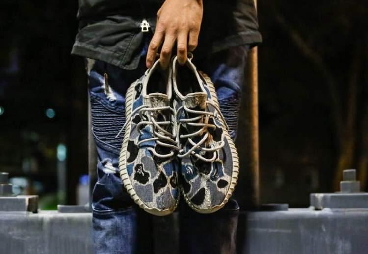 c9a5116ab2d9 BAPE Inspiration Highlights New adidas Yeezy Boost 350 Custom
