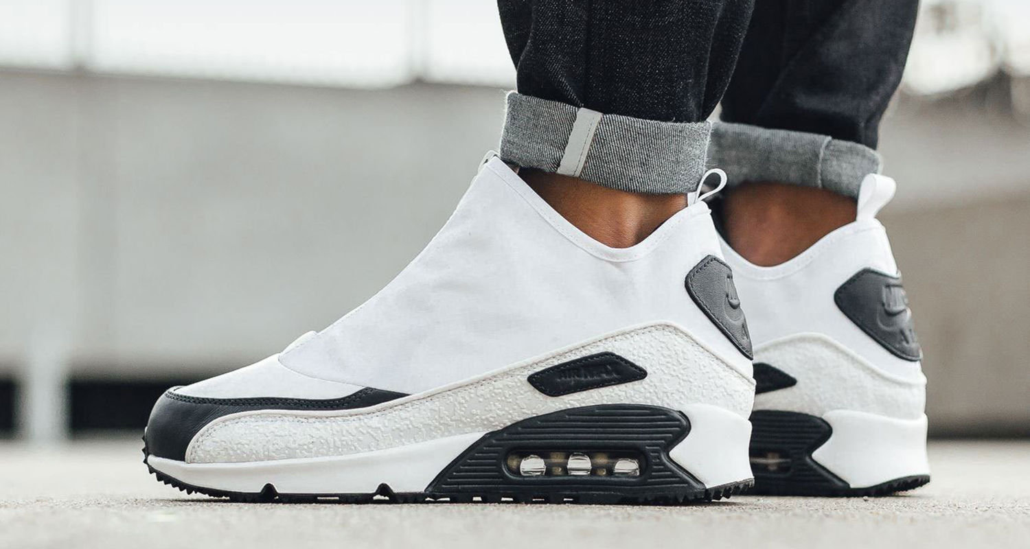 wholesale dealer f62ab 3c777 Nike Air Max 90 Utility White/Black // Available Now | Nice ...