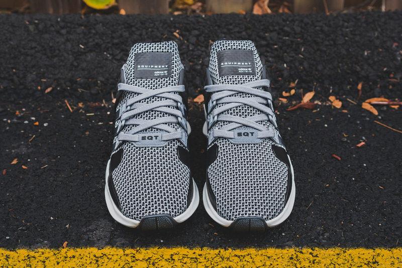 adidas eqt support adv grey & core black