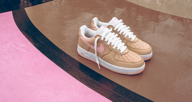 Linen' Nike Air Force 1s Will Be Very Hard to Get at Art