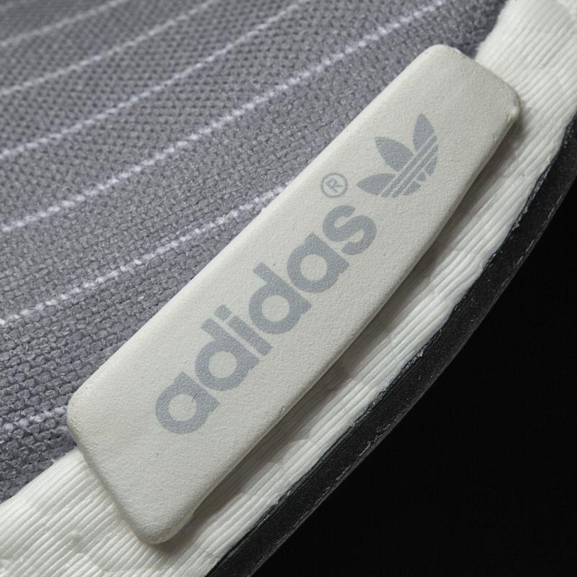 dfa5ec059 adidas NMD R1 White Grey CQ2411 Release Date