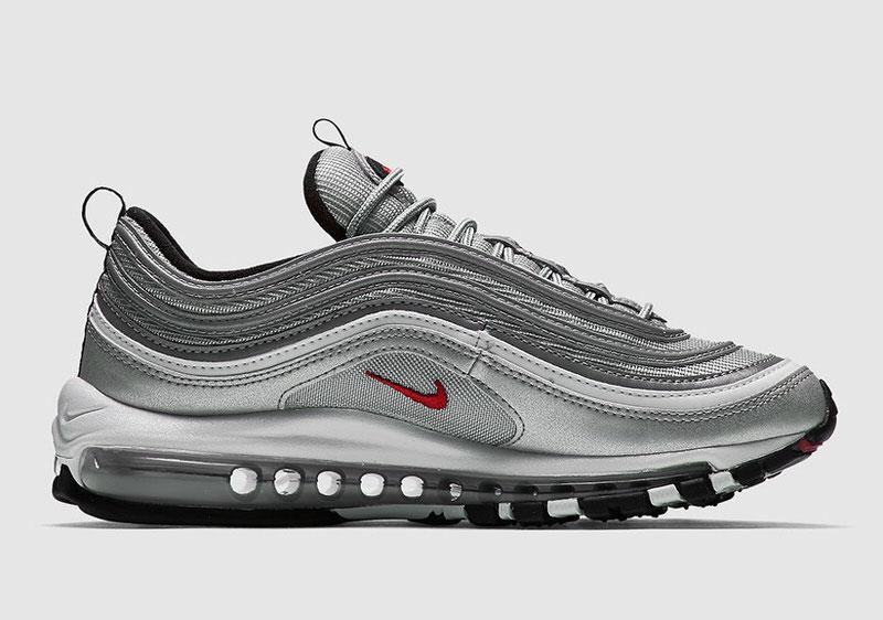 air max 97 silver