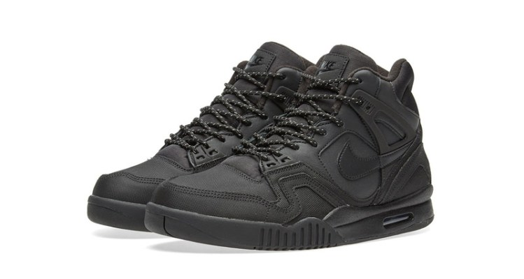 pretty nice be383 c274f Nike Air Tech Challenge II SE BlackMetallic Silver Releases Overseas