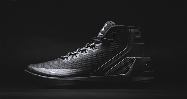 "Under Armour Curry 3 ""Trifecta Black"""