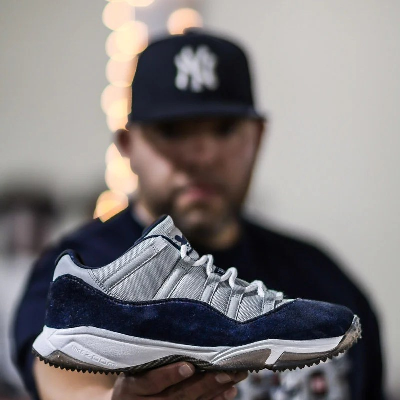 CC Sabathia Honored on Air Jordan 11 Low Turf Custom  d8ec261fb0ca