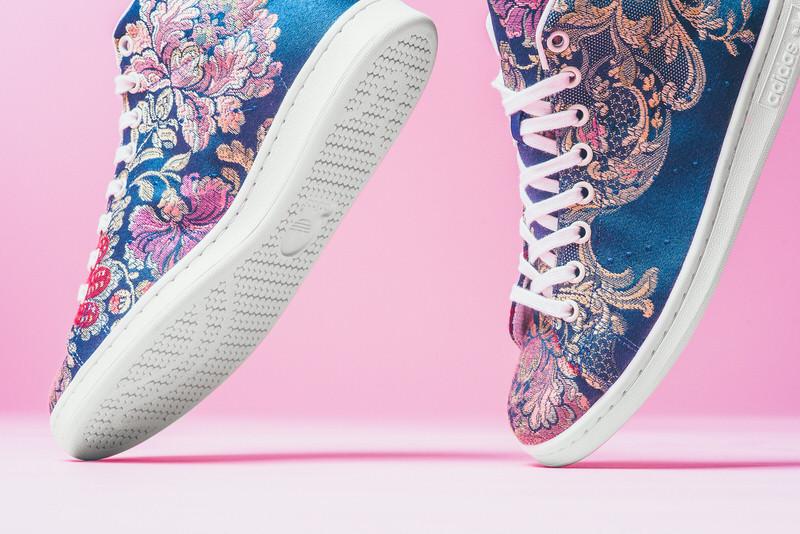 separation shoes 4642b 2b04d Pharrell Adidas Consortium Stan SMith High Floral Print Sneaker POlitics Hypebeast 5 75f032bb-a6e9-445d-ae11-a518dbbcd362.jpg