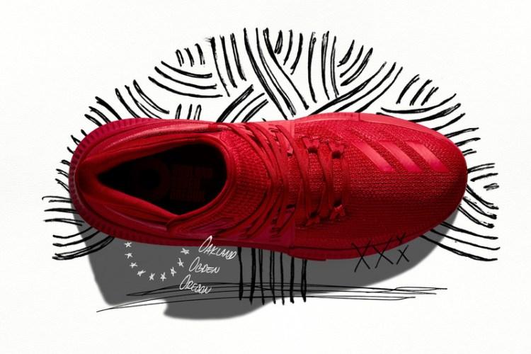 "on sale 921d8 40d4e ... adidas Dame 3 ""Roots"" ..."