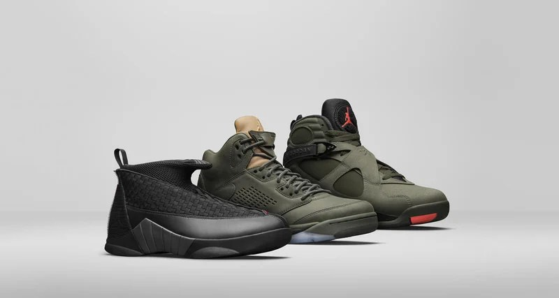 """de3fb757c8a27 Jordan Brand Debuts """"Take Flight"""" Pack Inspired by Bomber Jackets and  Fighter Planes"""
