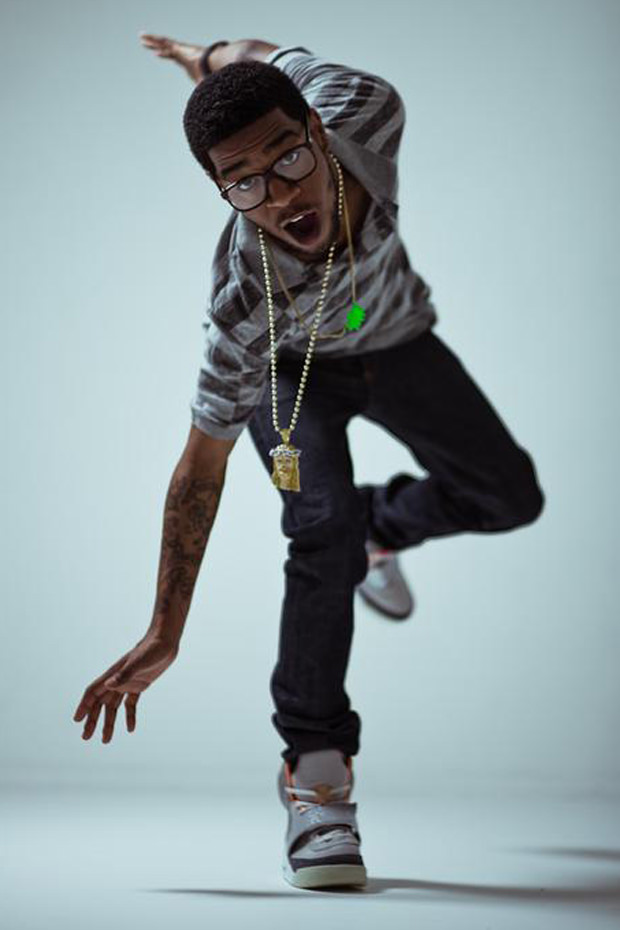 low priced a46df 2027a ... Kid Cudi in the Nike Air Yeezy 1