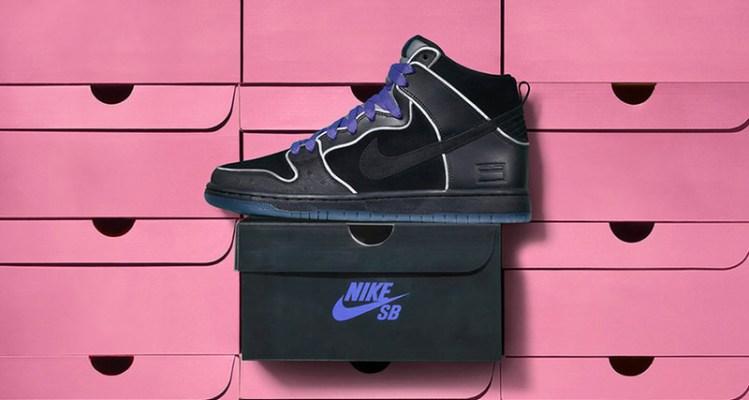 "Nike SB Dunk High ""Purple Box"""