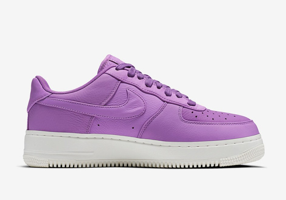 """official photos 480f9 15f5f NikeLab Air Force 1 Low """"Purple Stardust"""" ..."""