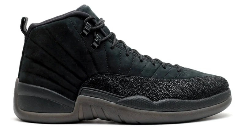 "Air Jordan 12 OVO ""Black"""
