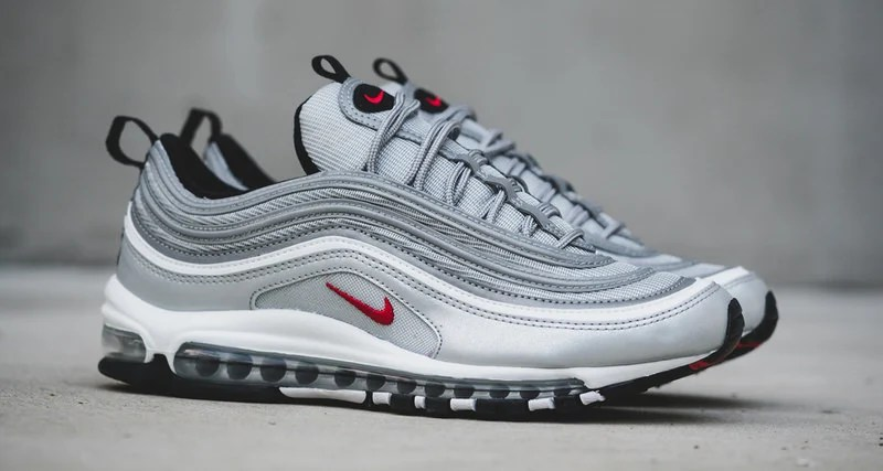 Silver Max 97 Air Nike For Bullet Sale Cheap 2018 Shoes qxwZv7I