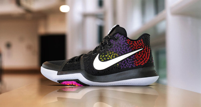 2017 New Nike Kyrie 3 Dymanic Dark Red Shoes