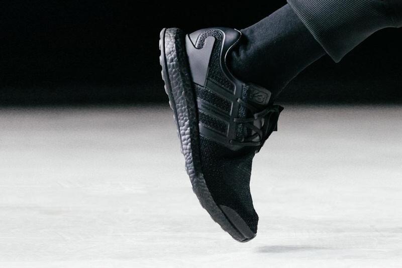 adidas pure boost triple noir