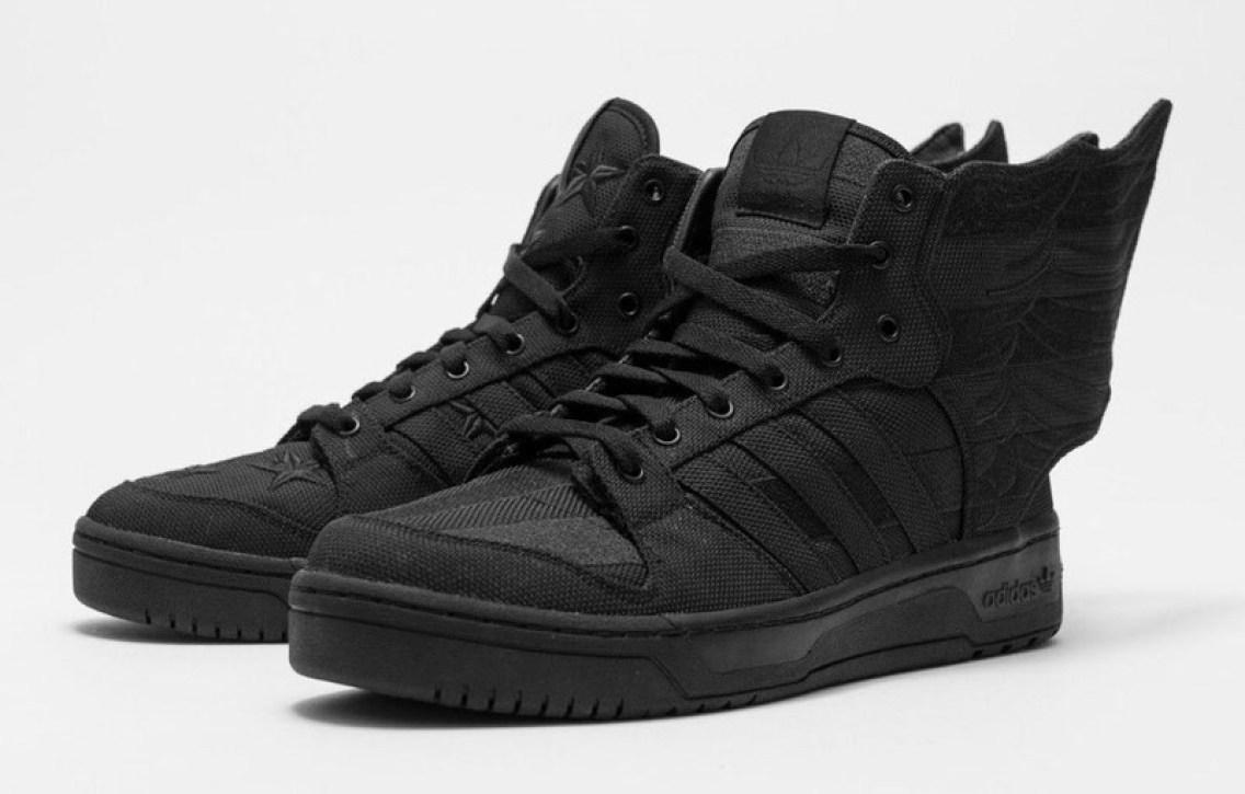 "5605b175e71572 2013    A AP Rocky x Jeremy Scott x adidas Wings 2.0 ""Black Flag"""