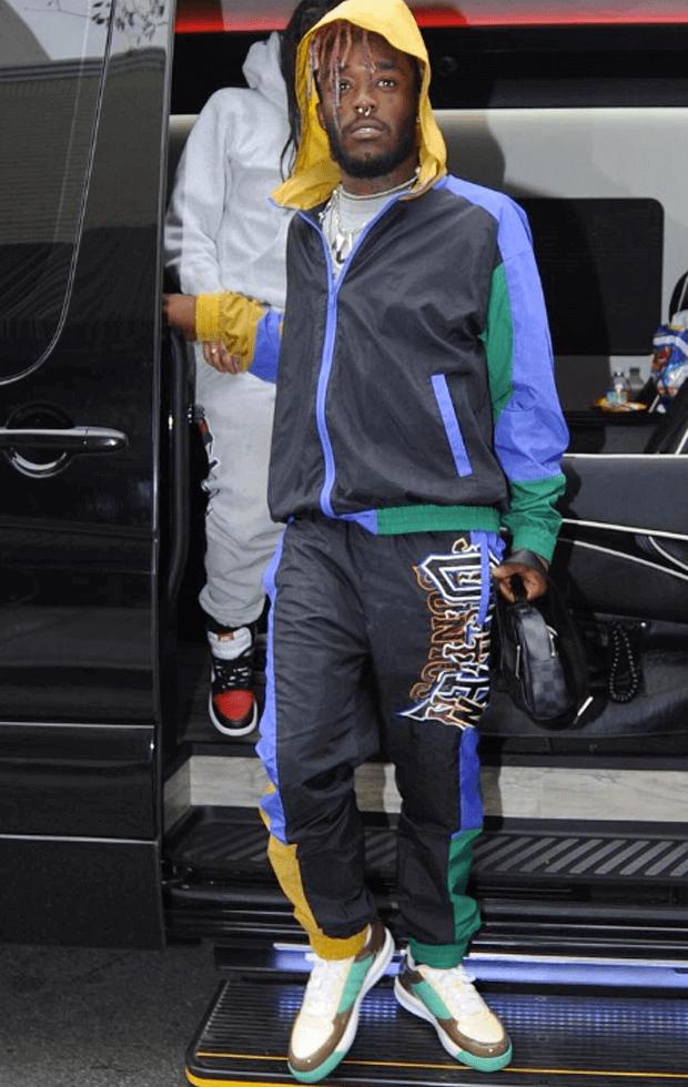 Lil Uzi Vert in Kanye West x Reebok S. Carter Samples