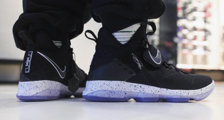 """new product ca396 3c589 Nike LeBron 14 """"Black Ice"""""""