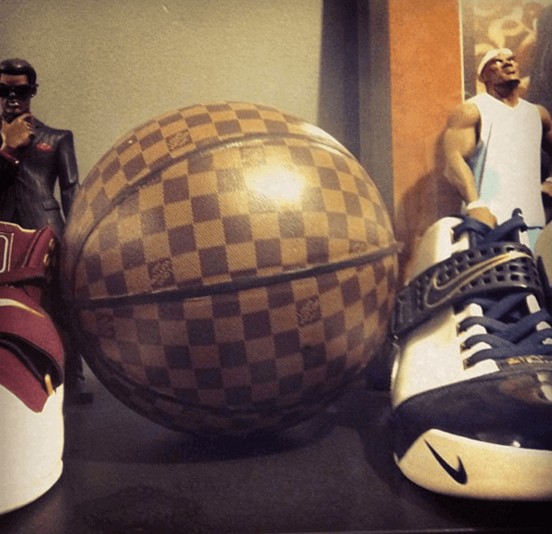 A$AP Yams' very rare Nike LeBron PE collection