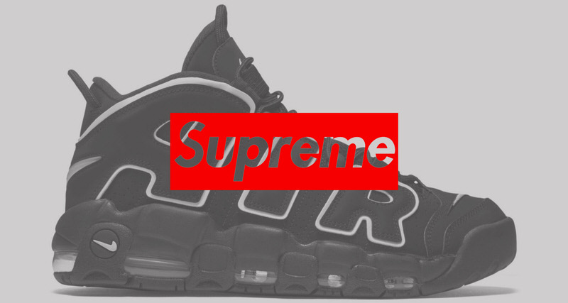 """separation shoes 59d52 a127b Supreme x Nike Air More Uptempo """"Suptempo"""" Coming This Year"""