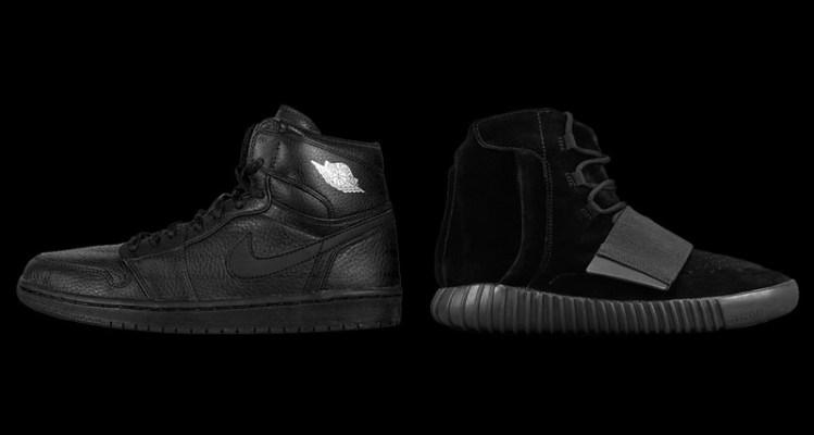 """The Best """"Triple Black"""" Sneakers of Each of the Last 15 Years"""