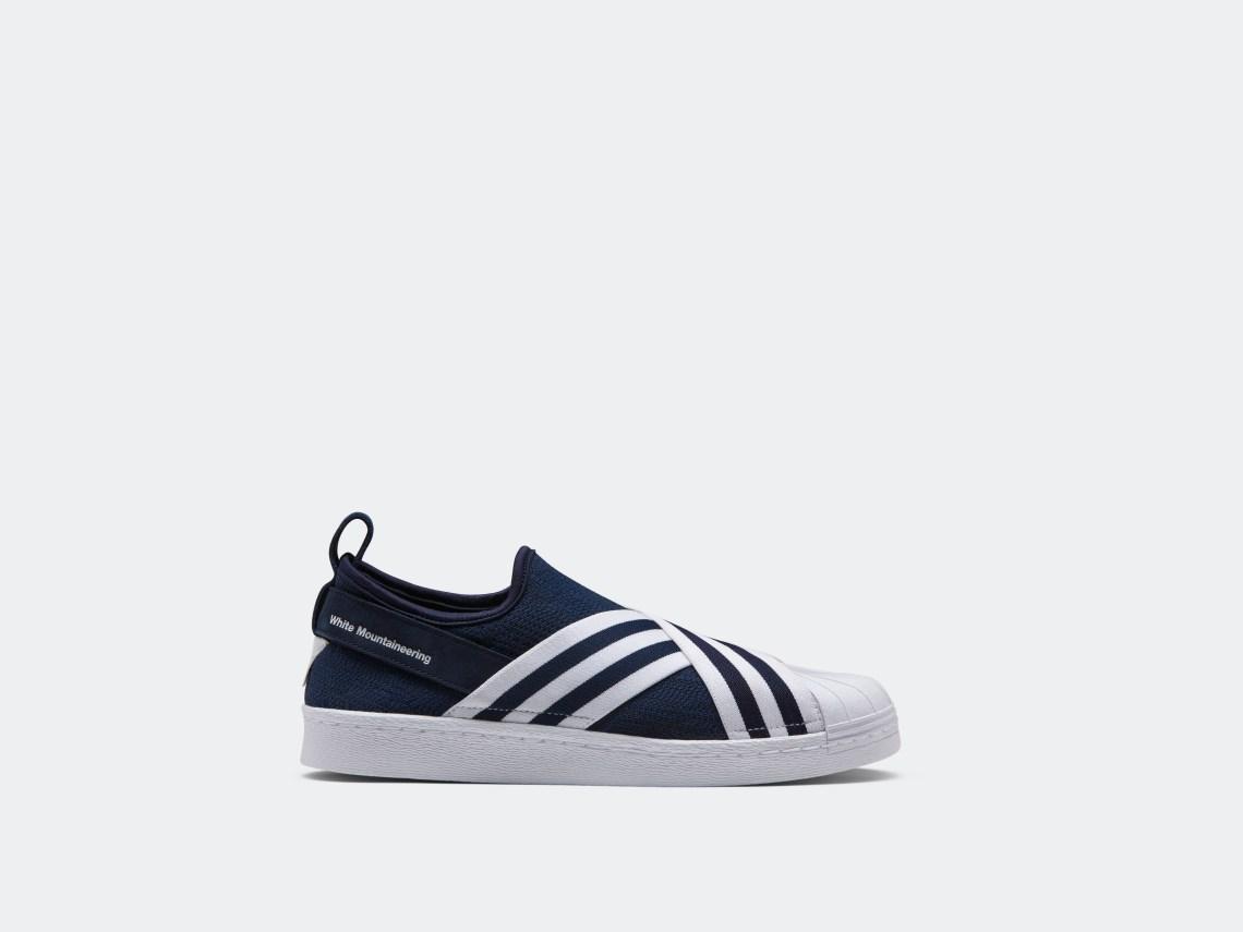 wholesale dealer 95c5d 4d836 White Mountaineering x adidas Superstar Slip-On