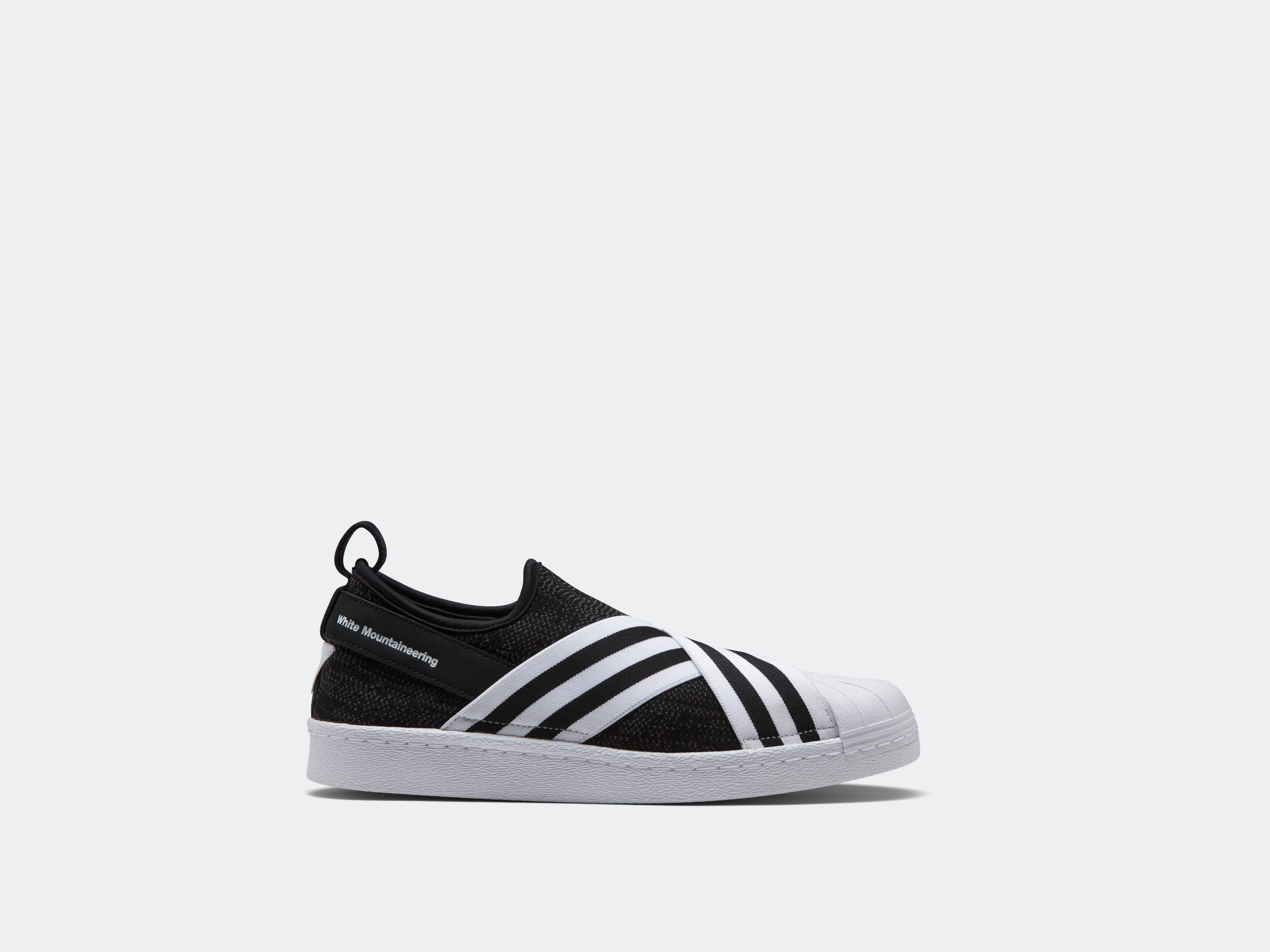 """White Mountaineering x adidas Superstar Slip-On """"Injection"""" Pack"""