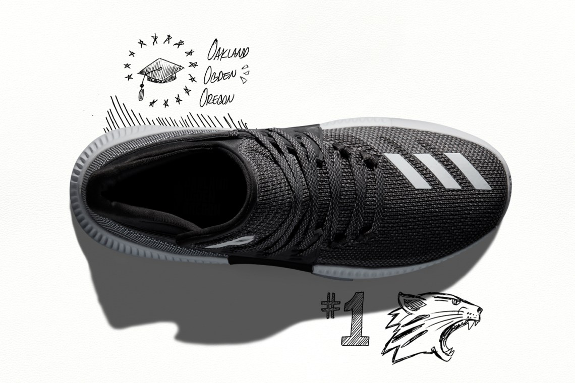 """huge discount 626c2 4b18e adidas Dame 3 """"Wasatch Front"""""""