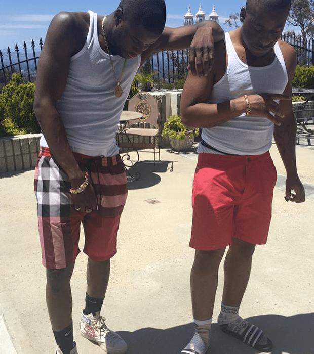 A$AP Twelvyy in Visvim sneakers