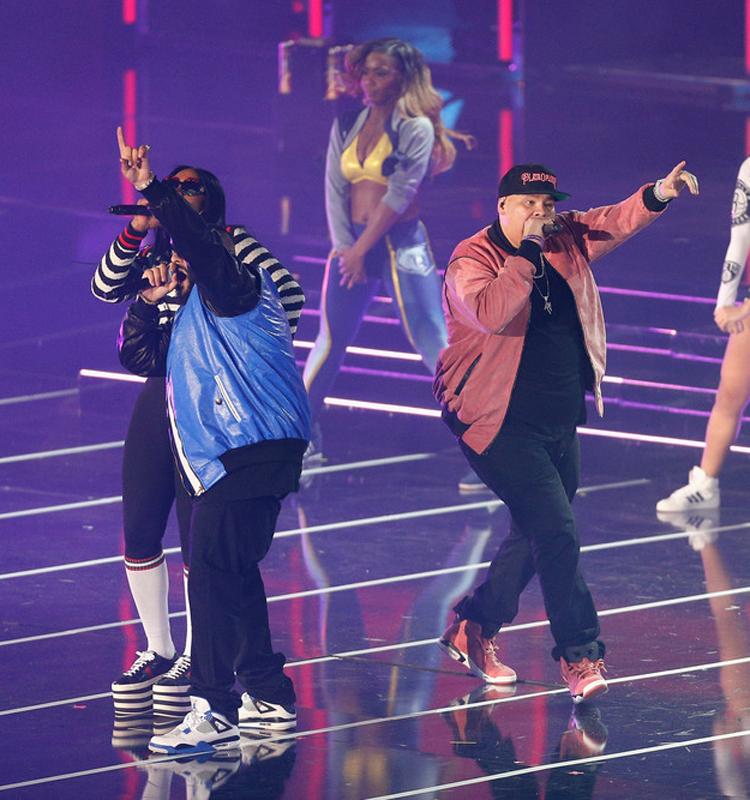 """DJ Khaled in the Air Jordan 4 """"Motorsport"""" & Fat Joe in the Air Jordan 6 """"Desert Clay"""" Macklemore PE"""
