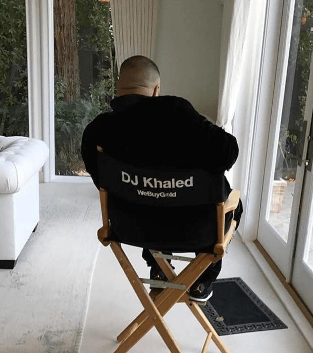 "DJ Khaled in the Air Jordan 4 ""Royalty"""