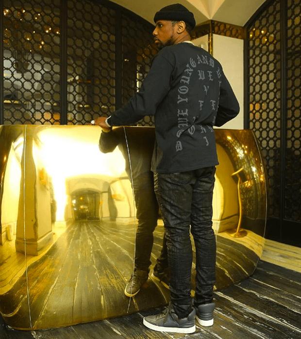 Fabolous in the Louis Vuitton Don