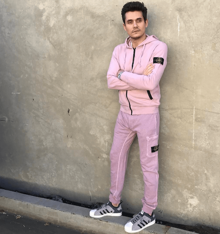 John Mayer in the BAPE x NEIGHBORHOOD x adidas Consortium Superstar Boost