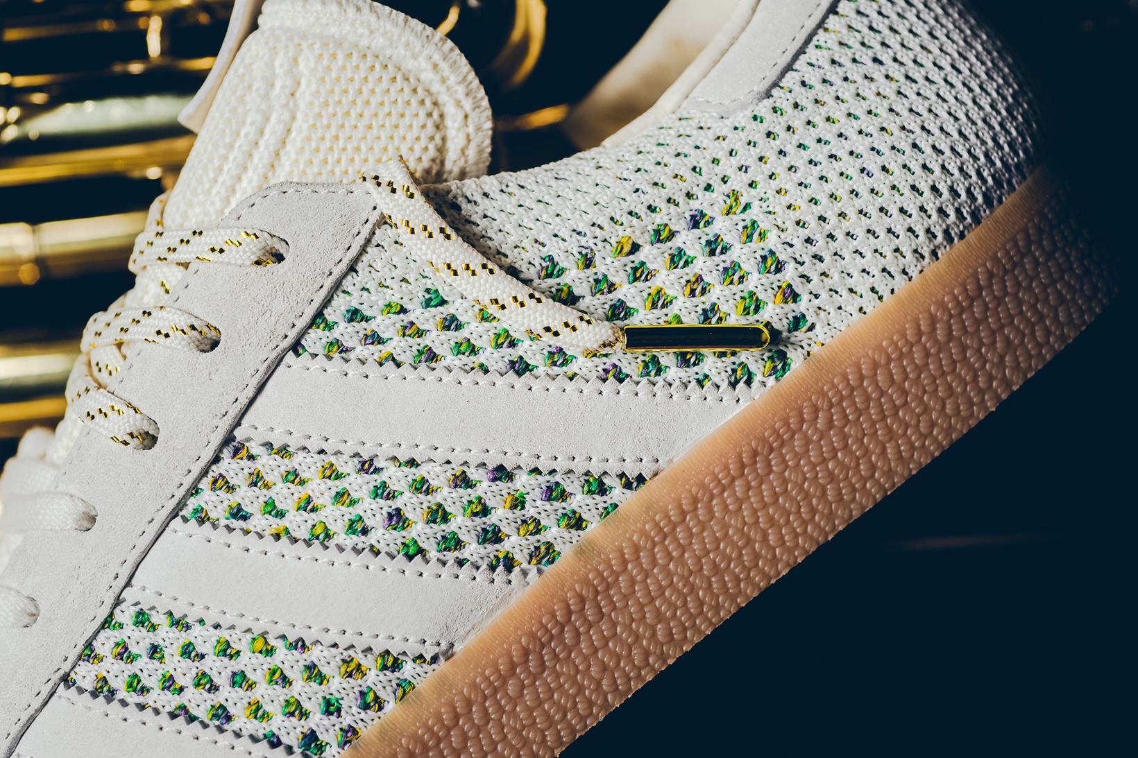 adidas Consortium Sneaker Politics x adidas Gazelle PK 'Mardi Gras' Unboxing
