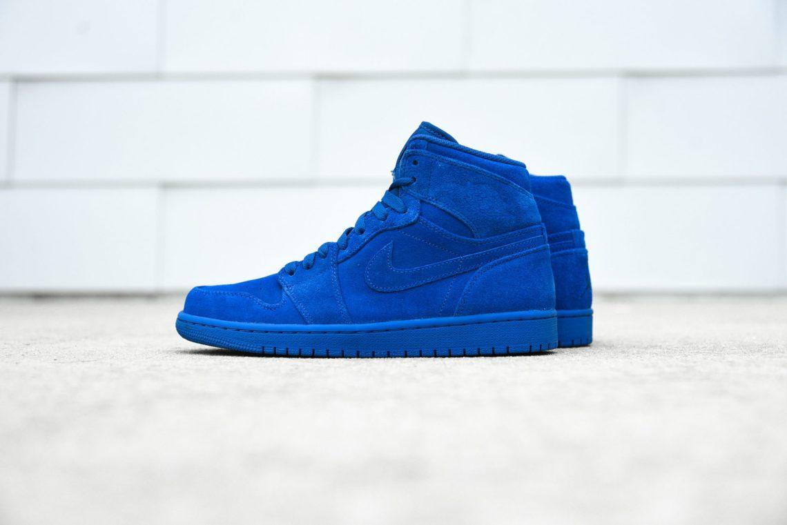 ... Blue Suede Release Date Heel 332550-404 finest selection eccf9 37726  Air  Jordan 1 High ... dabcc00d1