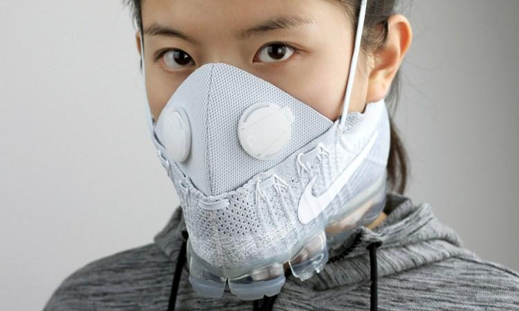 Nike Air VaporMax Gets Mask Makeover from Zhijun Wang