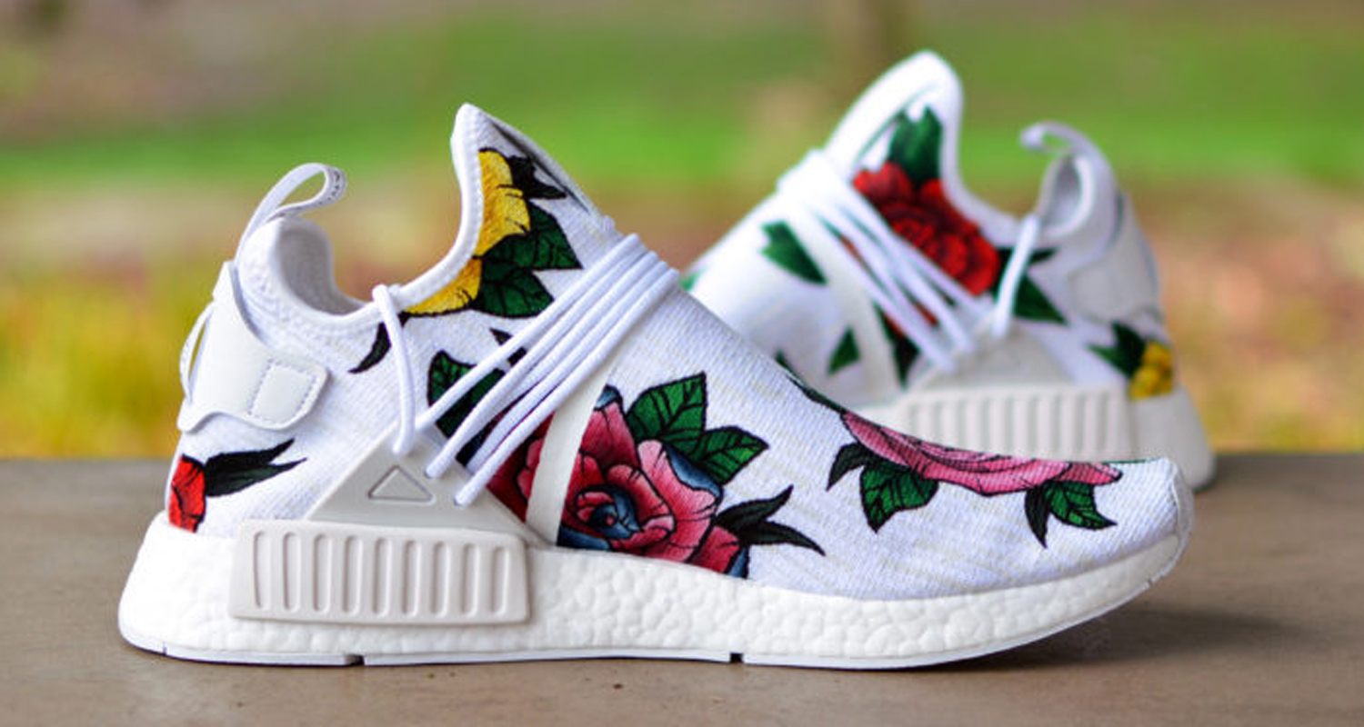 finest selection 1bb74 5a6fe Kendras Customs Brings Pharrell Vibes to New NMD Custom ...
