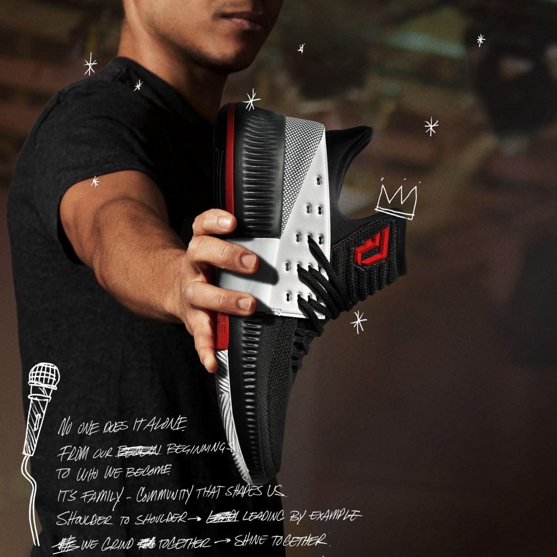 """brand new 220c8 e1e3e adidas Dame 3 """"On Tour"""" ..."""