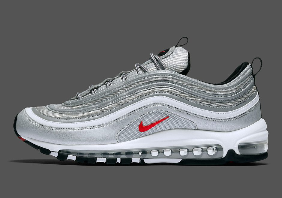 nike air max 97 silver bullet finally gets u s release. Black Bedroom Furniture Sets. Home Design Ideas