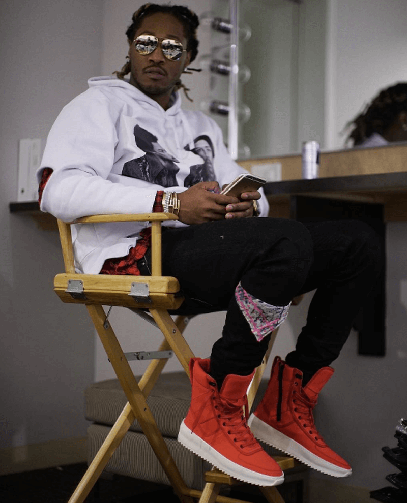 Future in Fear of God Boots
