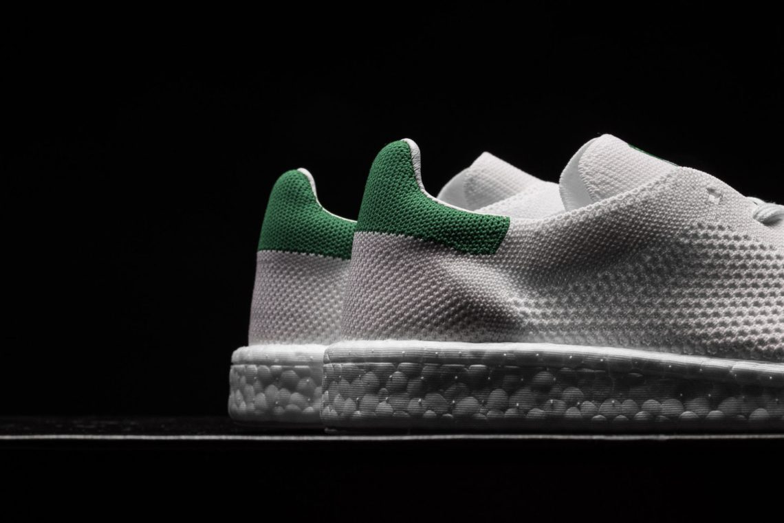 831d1d09dc270 adidas Stan Smith Boost Primeknit White Green    Available Now ...