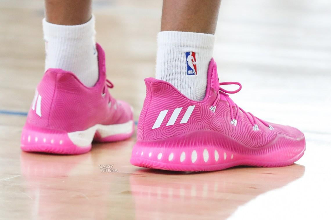 Kicks On Court The Best Shoes Worn At Adidas Uprising Nice Kicks