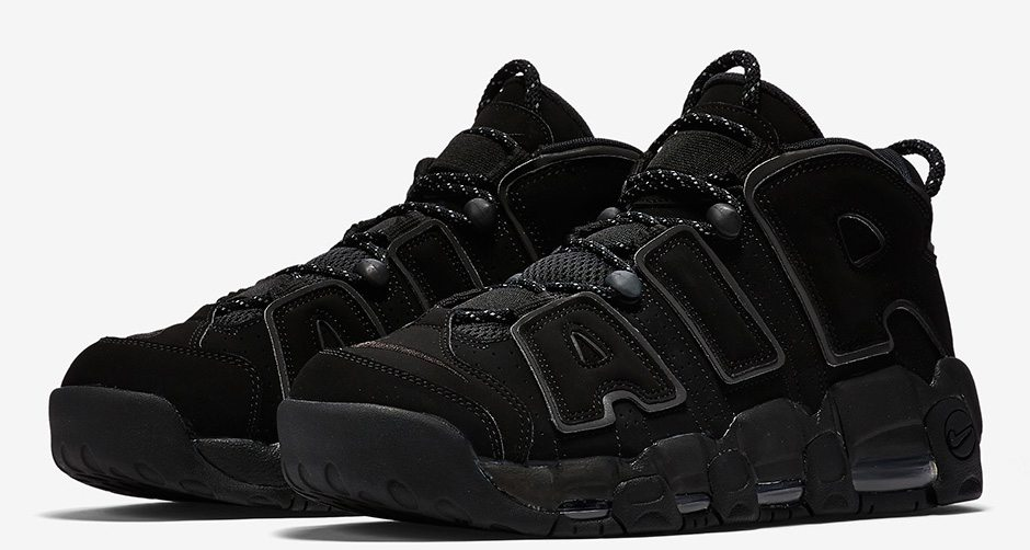 """Nike Air More Uptempo """"Black Reflective"""" // Release Date"""