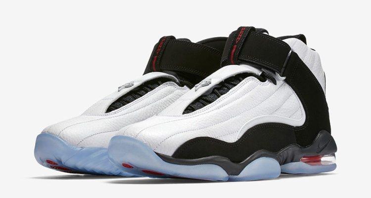 fb9ece9864b ... Nike Air Penny 4 White True Red ...