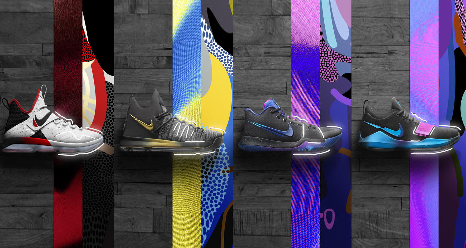 """0b8ffff3ec3a Nike Basketball s """"Flip the Switch"""" Collection Celebrates the Excitement of  the NBA Playoffs"""