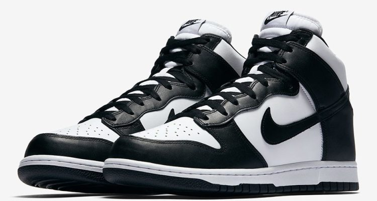 Nike Dunk High Black/White